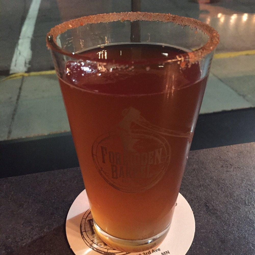 Forbidden Barrel Brewing Company: 900 3rd Ave, Worthington, MN