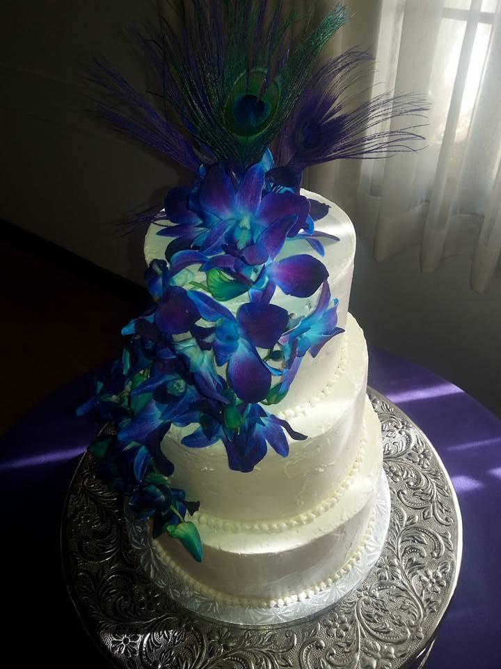 Peacock Wedding Cake.Our Peacock Wedding Cake We Had Coconut Chocolate On The