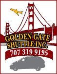 Golden Gate Shuttle: Fairfield, CA