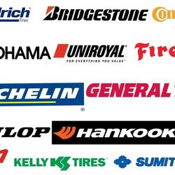 Who are some major tire manufacturers?