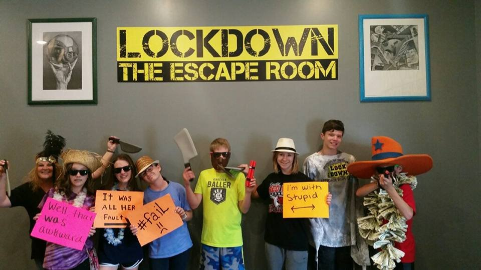 Social Spots from Lockdown: The Escape Room