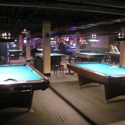 Melrose billiard parlor