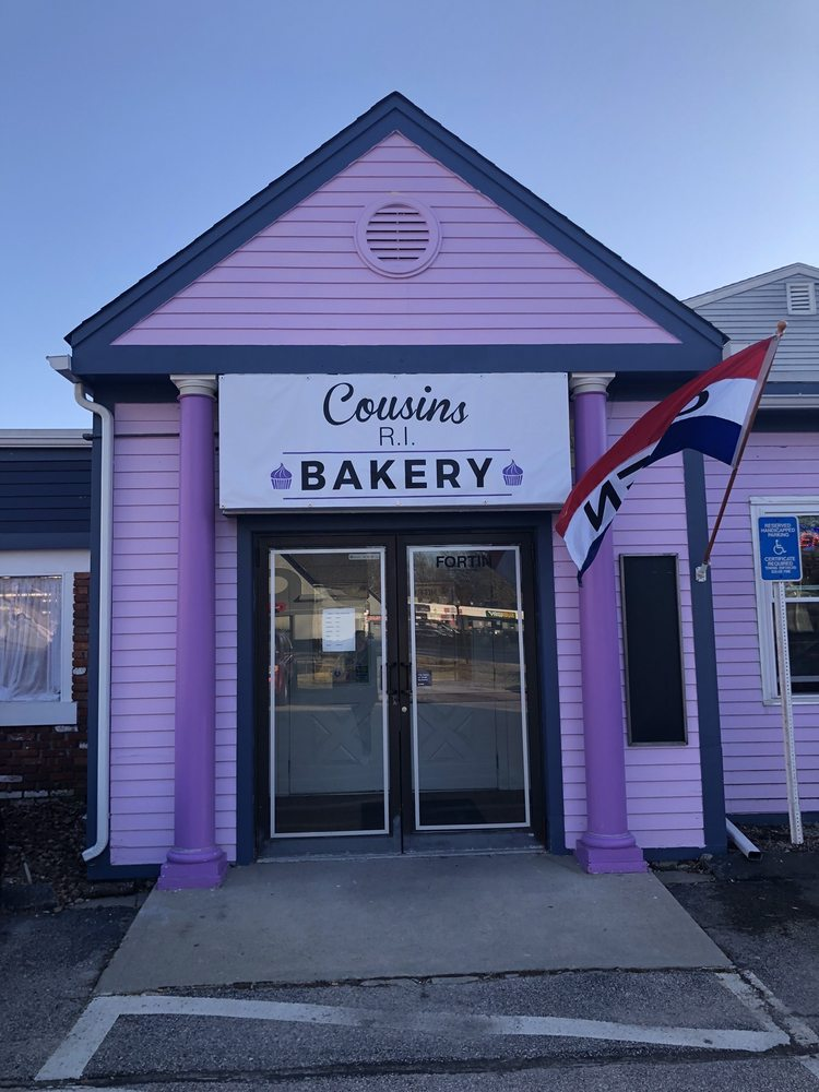 Cousin's RI Bakery: 100 Fortin Rd, South Kingstown, RI