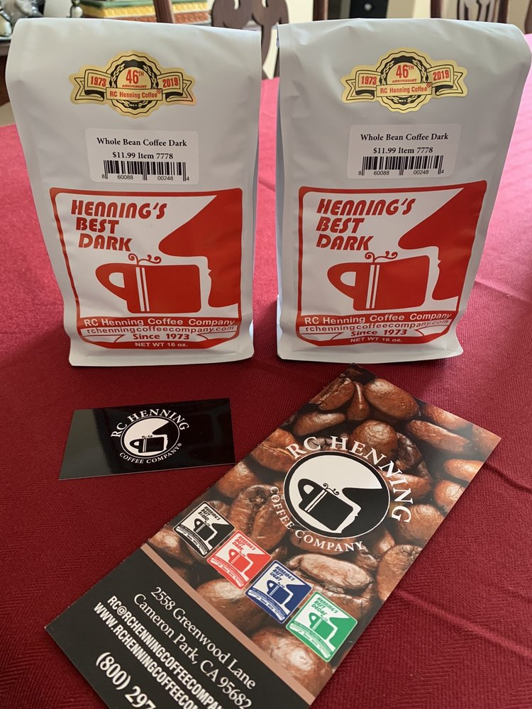 RC Henning Coffee Company: 2558 Greenwood Ln, Cameron Park, CA