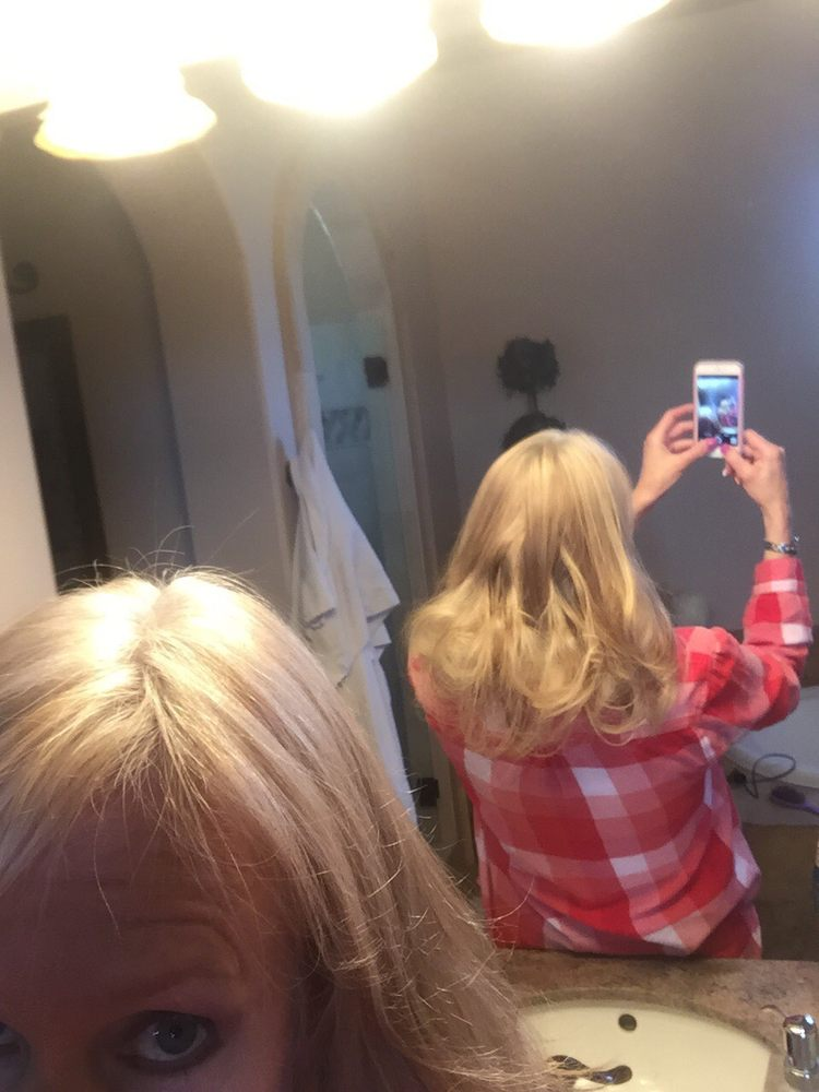 This is what my remy extensions from the hair shop are doing photo of the hair shop valley encino ca united states this is pmusecretfo Gallery