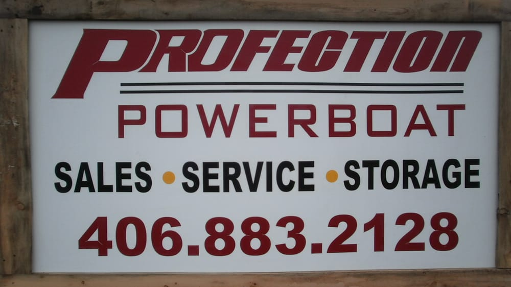 Profection Powerboat: Polson, MT