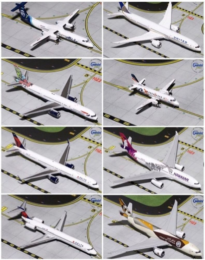 Gemini Jets 1/200 scale diecast Airplanes - Yelp
