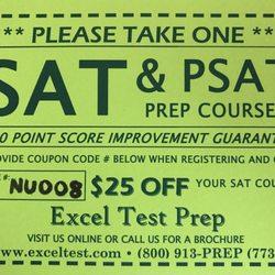 Excel Test Prep - 4160 Technology Dr, Fremont, CA - 2019 All