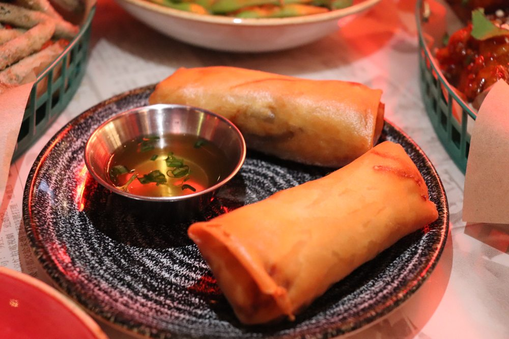 Food from Hawkers Asian Street Food - Chapel Hill