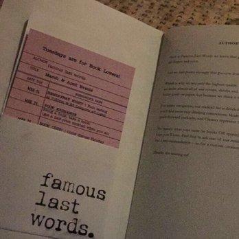 Famous Last Words - 45 Photos & 15 Reviews - Cocktail Bars - 392