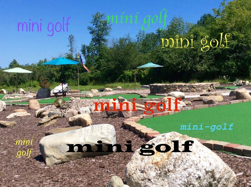 Social Spots from SwingTime Mini Golf