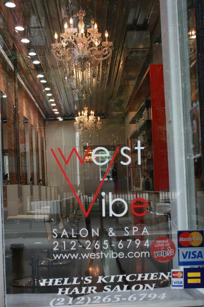 West Vibe Hair Salon: 451 W 46th St, New York, NY