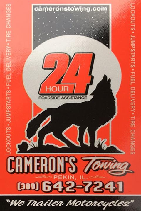 Cameron's Towing: 111 St Mary St, Pekin, IL