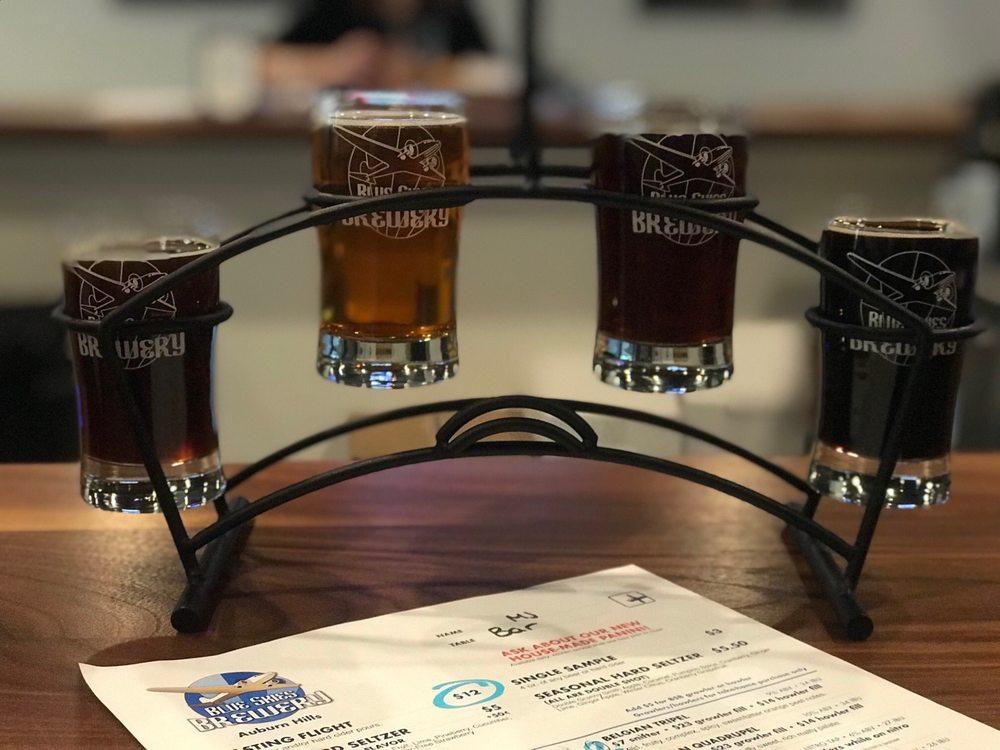 Blue Skies Brewery: 3358 Auburn Rd, Auburn Hills, MI