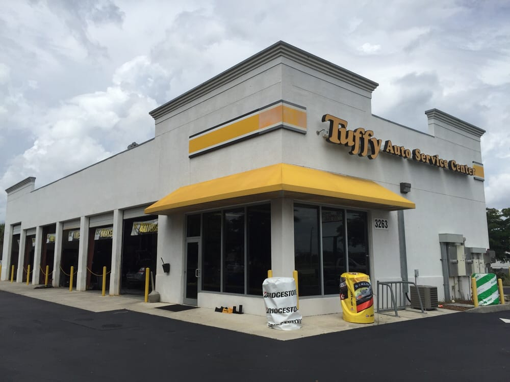 Tuffy tire auto service center tyres 3263 colonial for Grant motors fort myers