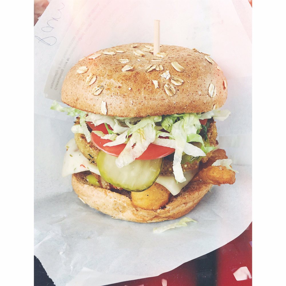 Food from Bob's Atomic Burgers