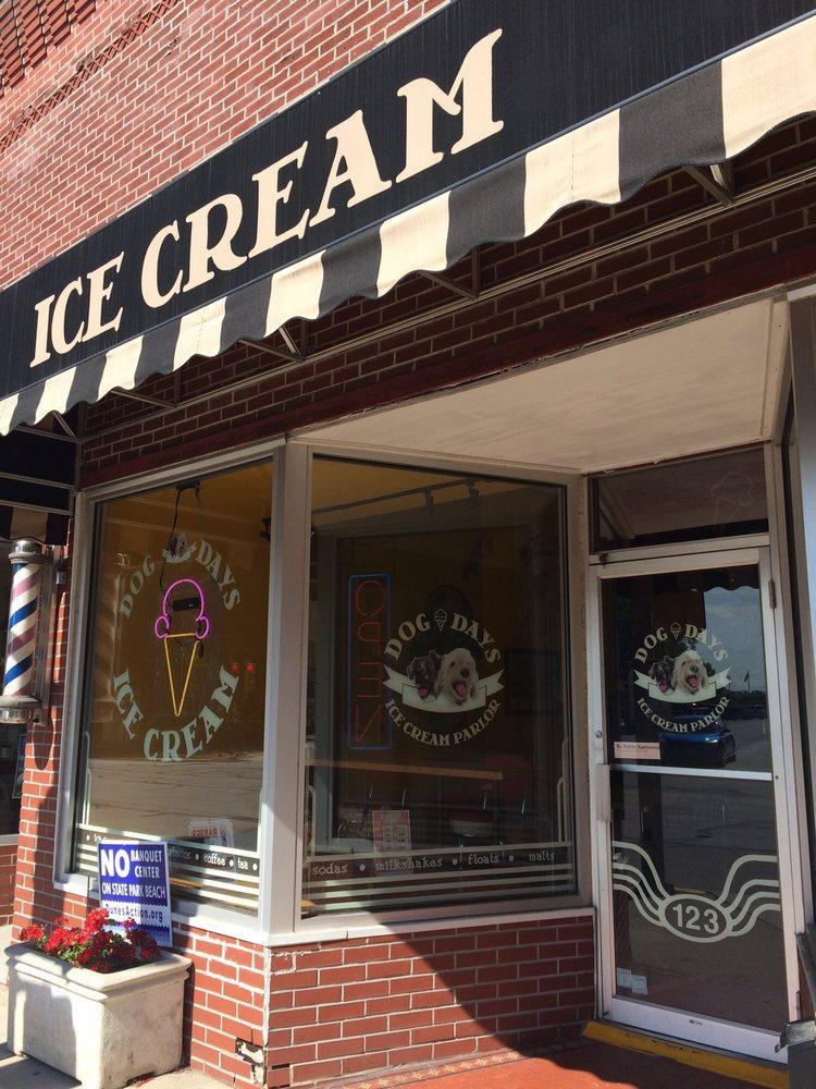 Dog Days Ice Cream Parlor: 123 S Calumet Rd, Chesterton, IN
