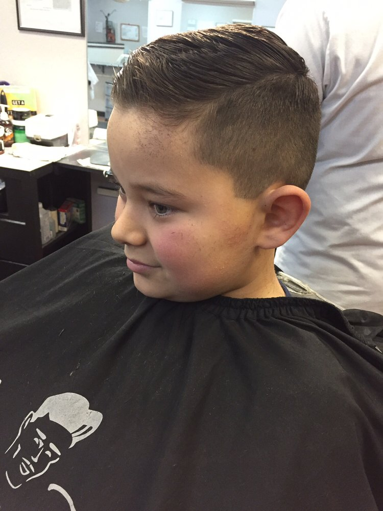 Little Boy Comb Over W 1 5 Short Fade By Juan Yelp