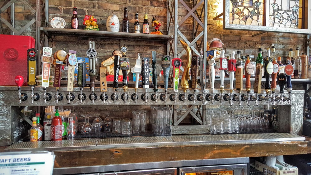 Photo of Hopleaf - Chicago, IL, United States. So many options!