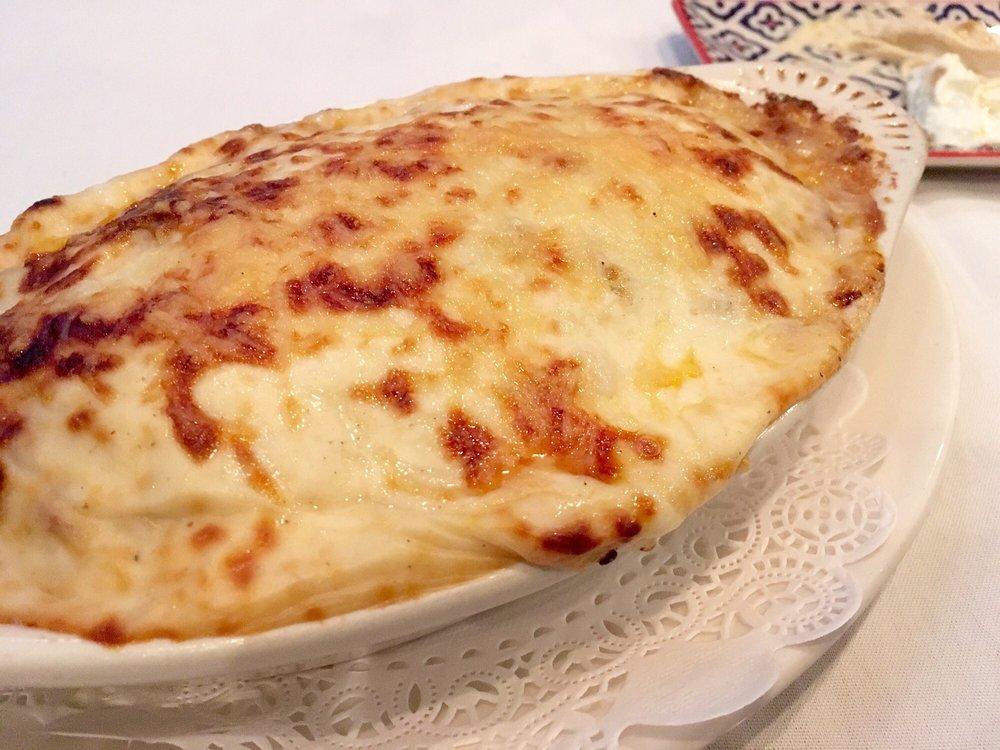 Food from Lourdas Greek Taverna