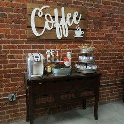 Photo of ReGen Salon - Belmont, NC, United States. Adorable coffee bar,