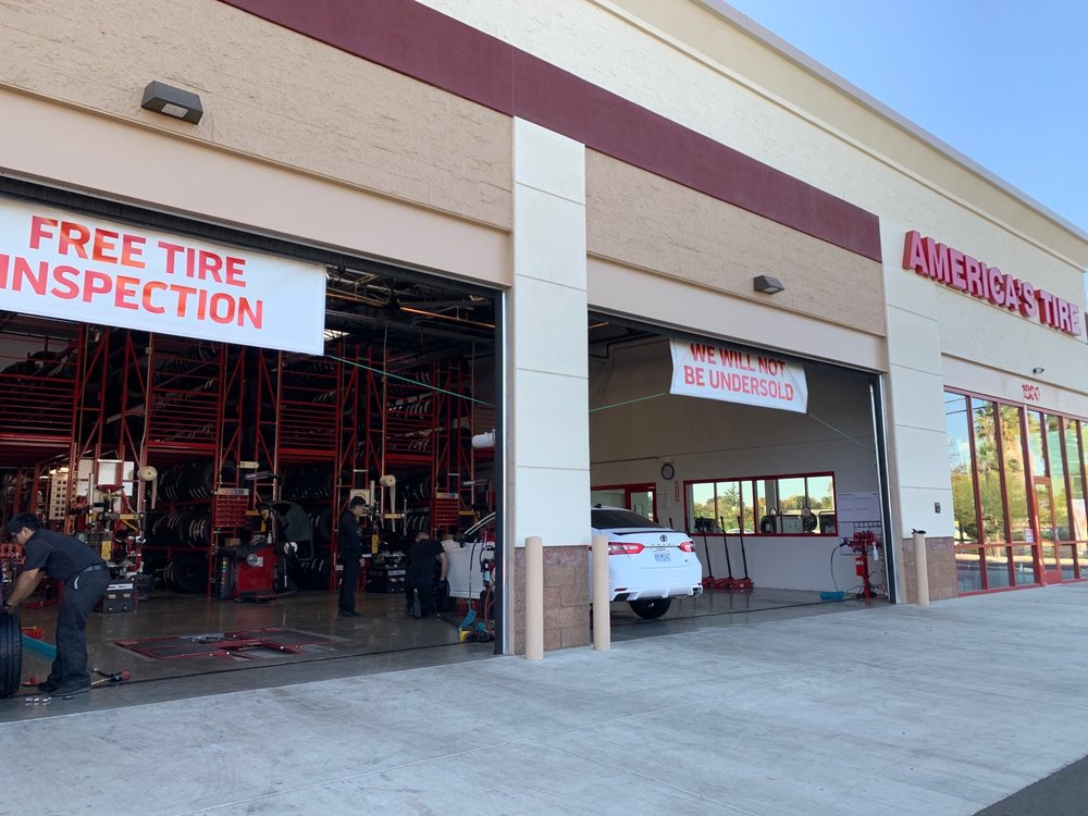 America's Tire: 1800 E. Hatch Rd., Modesto, CA