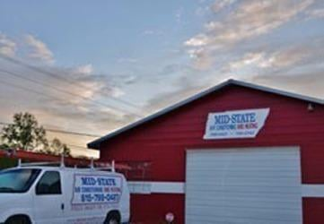 Mid-State Air Conditioning, Heating & Plumbing: 7102 Lakeview Dr, Fairview, TN