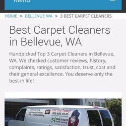 Carpet Cleaning Anderson In Heaven S Best