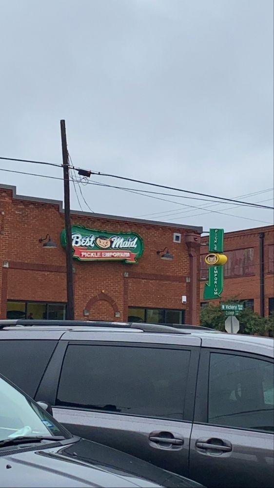Best Maid Pickle Emporium: 829 W Vickery Blvd, Fort Worth, TX