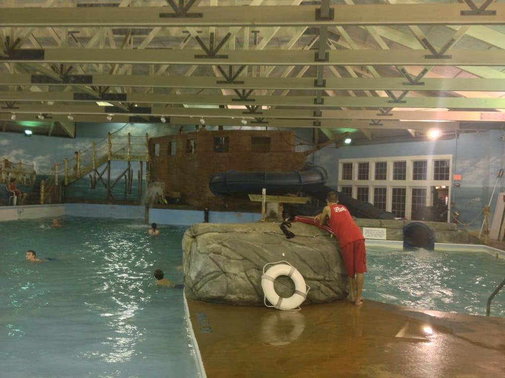 indoor wave pool with water slides yelp. Black Bedroom Furniture Sets. Home Design Ideas