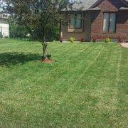Spring Clean Photo Of Gr Monkey Lawn Care Wichita Ks United States