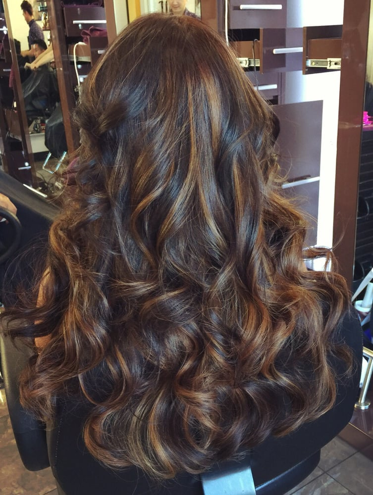Hair Color By Anh 200 2 Colors Balayage Yelp