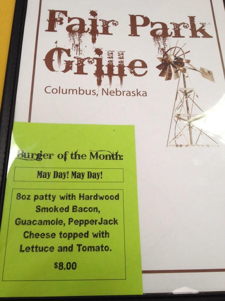 Fair Park Grille: 822 15th St, Columbus, NE