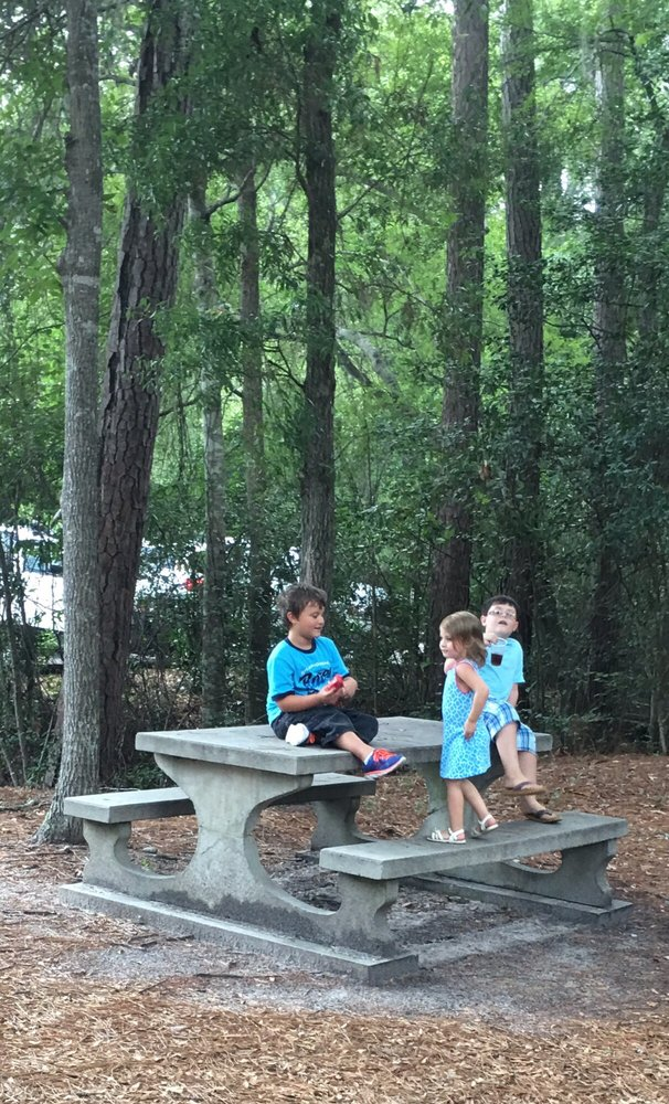 Little Ocmulgee State Park: 80 Live Oak Trl, Helena, GA