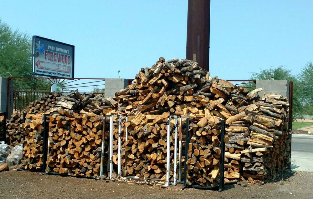 Paul Bunyan's Firewood: 5917 E Calle Guadalupe, Guadalupe, AZ