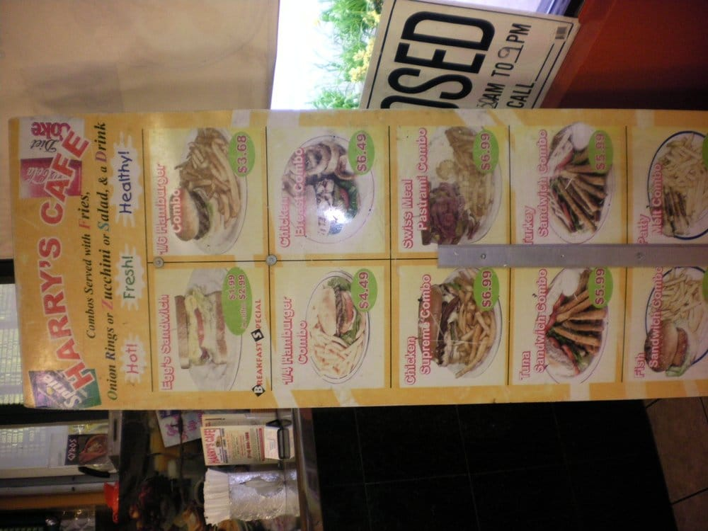 Harry S Cafe Huntington Beach Ca