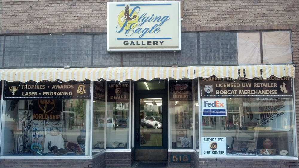 Flying Eagle Gallery: 518 Broadway, Thermopolis, WY
