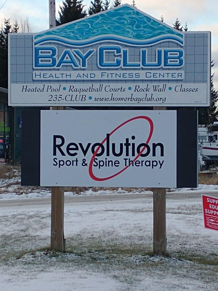 Revolution Sport & Spine Therapy – Homer: 2395 Kachemak Dr, Homer, AK