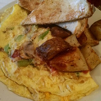 Photo Of Sunroom Cafe   Madison, WI, United States. Denver Omelette With  Toast