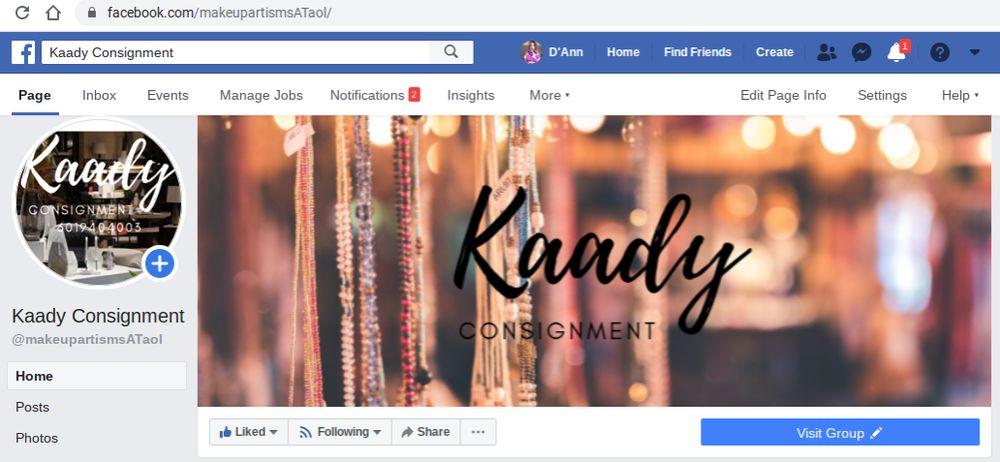 Kaady Consignment: 1001 Levee St, vicksburg, MS