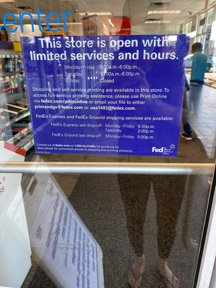 FedEx Office Print & Ship Center: 1450 NW 87th Ave, Doral, FL