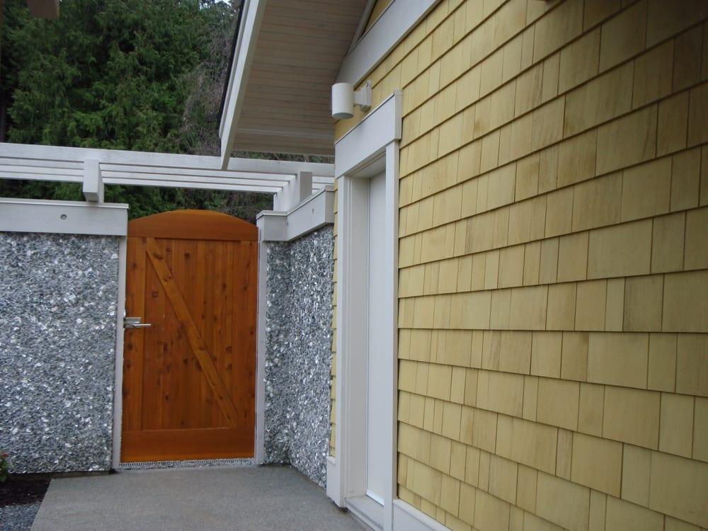 Cedar Gate ArbourCustom Home Cedar Shingles With Semitransparent New Custom Home Exteriors Concept