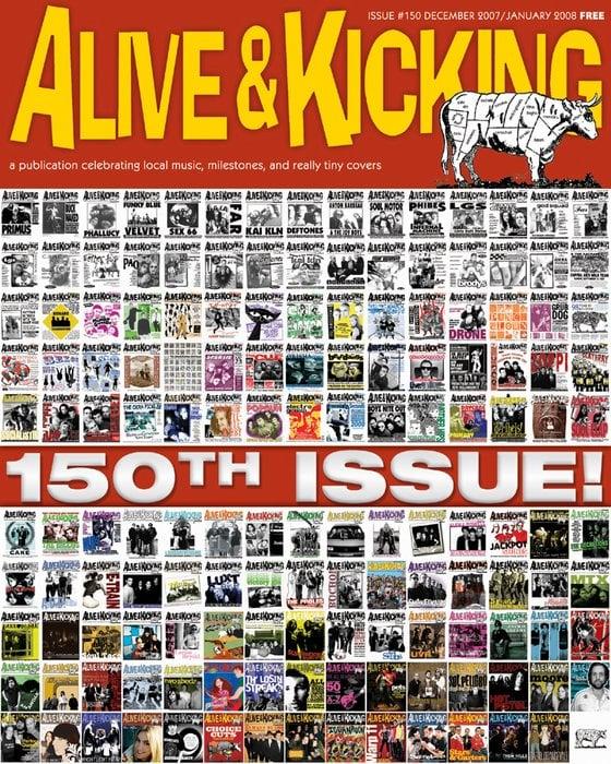 Alive & Kicking Newspaper