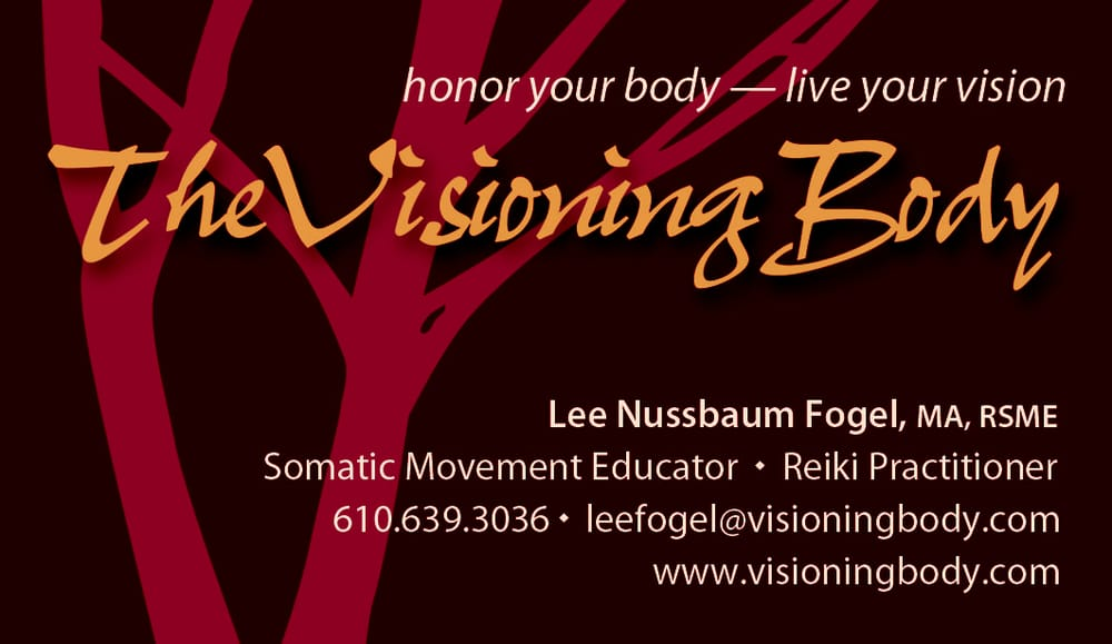 The Visioning Body