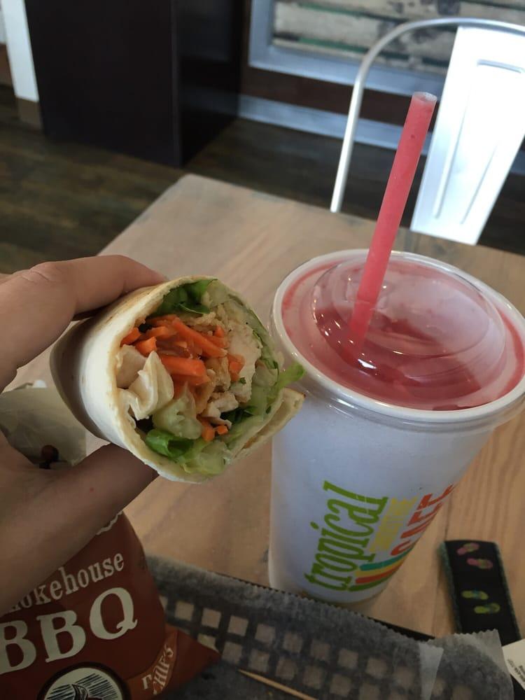 Tropical Smoothie Cafe Menu Wilmington Nc