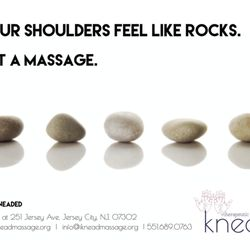 Photo of Knead Therapeutic Massage - Jersey City, NJ, United States. Your  shoulders