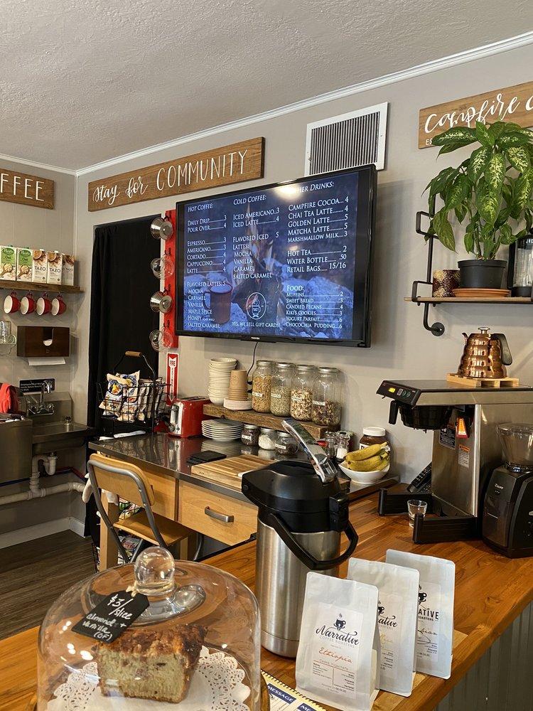 Campfire Coffee: 108 E Central Ave, Jamestown, TN