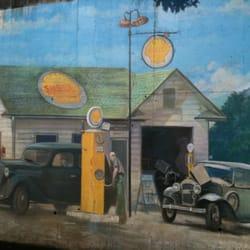 West linn shell tankstationer 22355 willamette dr for Cleveland gas station mural