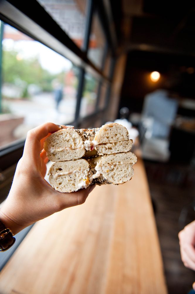 Whidbey Island Bagel Factory: 11042 State Rte 525, Clinton, WA