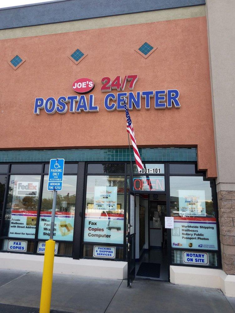 Joe's 24/7 Postal Center